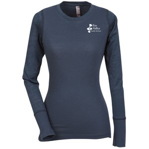 Next Level Hybrid Burnout LS Tee - Ladies' Main Image