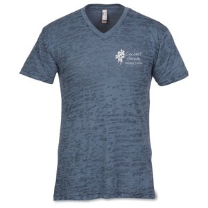 Next Level Burnout V Neck Tee - Men's Main Image