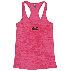 Next Level Burnout Racerback Tank - Ladies' Main Image