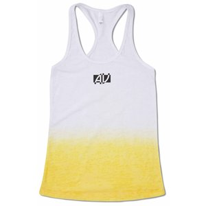 Next Level Ombre Burnout Razor Tank - Ladies' Main Image