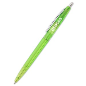 Budget King Click Pen - Translucent Main Image