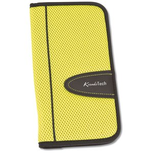Eclipse Mesh Zippered Travel Wallet - Closeout Main Image