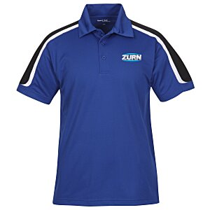 Tricolor Shoulder Accent Performance Polo - Men's Main Image