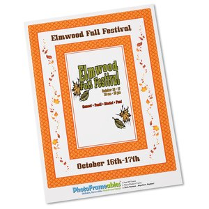 Removable Picture Frame Decal - 4 x 6 - Diamond Main Image