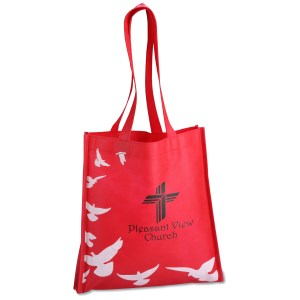 Spiritual Tote - Doves - Closeout Main Image
