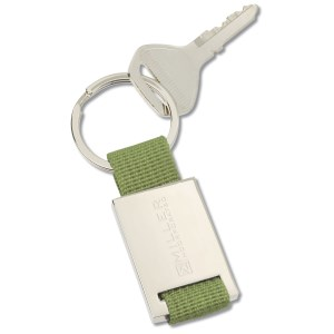 Colorplay Nylon Key Ring - Closeout Main Image