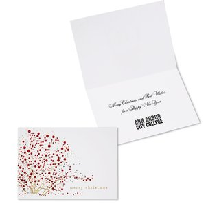 Red Berries Christmas Greeting Card Main Image