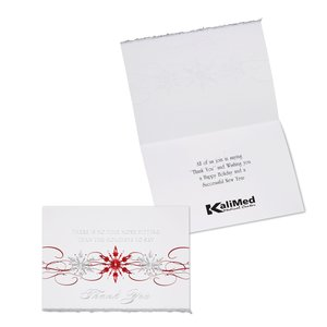 Holiday Thank You Greeting Card