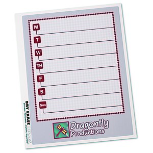 Removable Memo Board Sticker - Weekly - Executive Main Image