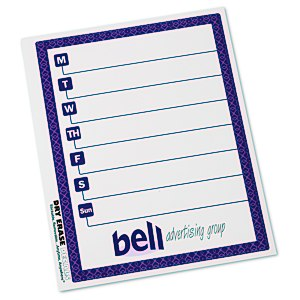 Removable Memo Board Sticker - Weekly - Trellis Main Image