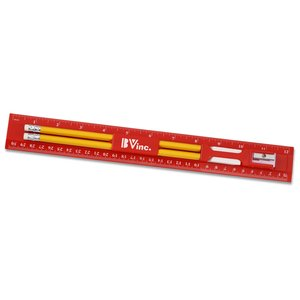 Red Ruler Set - Closeout Main Image