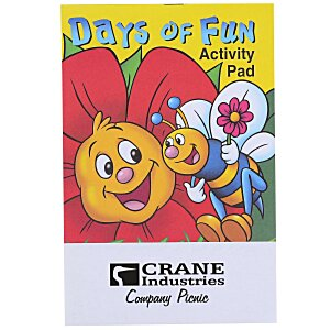 Activity Pad - Days Of Fun Main Image
