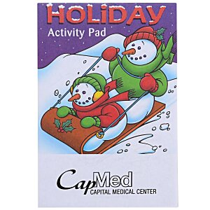 Activity Pad - Holiday