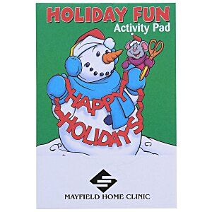 Activity Pad - Holiday Fun Main Image