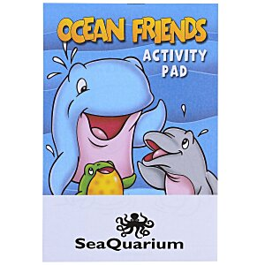 Activity Pad - Ocean Friends Main Image