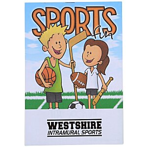 Activity Pad - Sports Fun Main Image