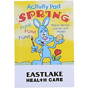 Activity Pad - Spring Main Image