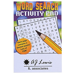 Activity Pad - Word Search