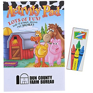 Activity Pad Fun Pack - Farm Fun Main Image