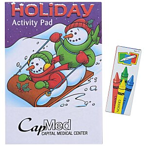 Activity Pad Fun Pack - Holiday Main Image