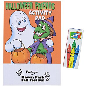 Activity Pad Fun Pack - Halloween Friends Main Image