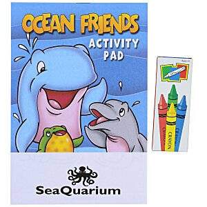 Activity Pad Fun Pack - Ocean Friends Main Image