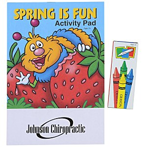 Activity Pad Fun Pack - Spring Is Fun Main Image