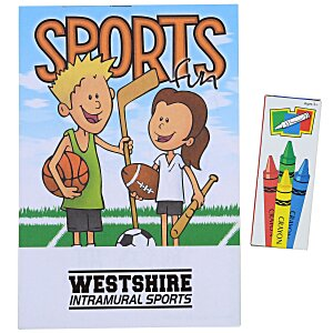 Activity Pad Fun Pack - Sports Fun Main Image