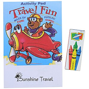 Activity Pad Fun Pack - Travel Fun Main Image