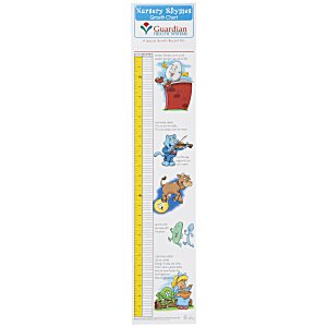 Nursery Rhymes Growth Chart Main Image