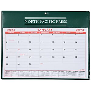 Calendar with Vinyl Pad Main Image