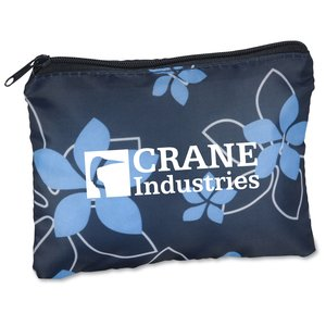 Fashion Pouch - Navy Floral Main Image