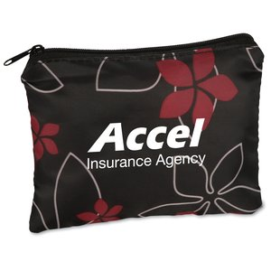Fashion Pouch - Black Floral Main Image