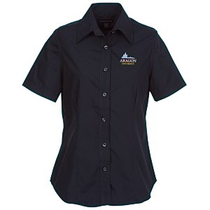 Preston EZ Care Short Sleeve Tapered Shirt - Ladies' Main Image
