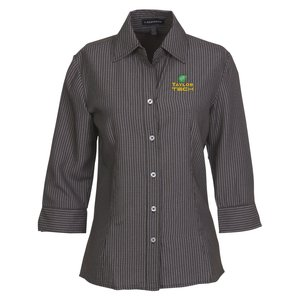 Brewar EZ-Care Checkered 3/4 Sleeve Shirt - Ladies' Main Image