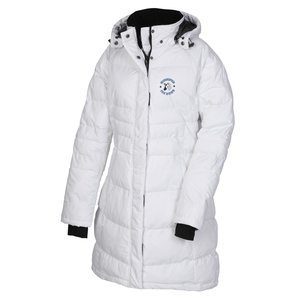 Balkan Insulated Quilted Long Length Jacket - Ladies'