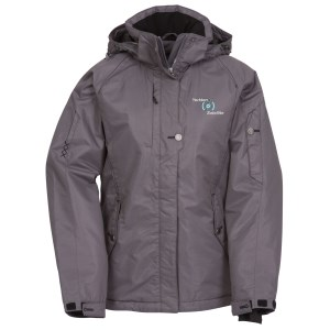 Andrus Insulated Hooded Jacket - Ladies'