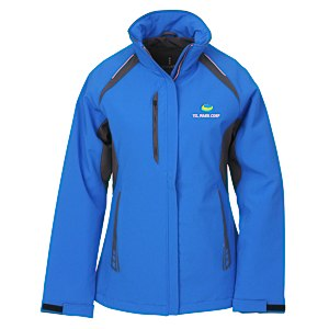 Ortega Colorblock Insulated Soft Shell Jacket - Ladies' Main Image