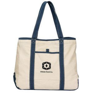 Topsail Recycled Cotton Tote - Closeout Main Image