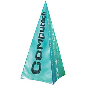 Spectrum Pyramid Banner Display - Replacement Graphic Main Image