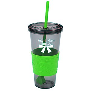 Smoky Revolution Tumbler with Straw - 24 oz. Main Image