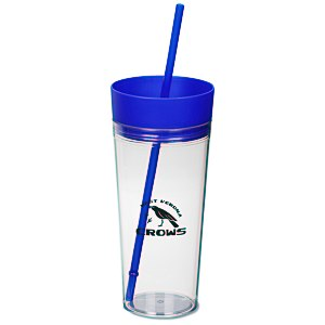 Templar Tumbler with Straw - 22 oz. Main Image