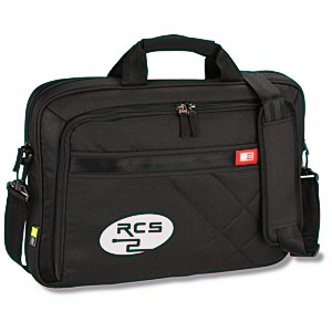 Case Logic Cross-Hatch Laptop Brief Main Image