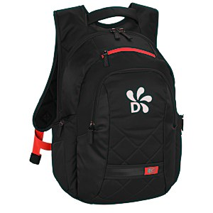 Case Logic Cross-Hatch Laptop Backpack Main Image