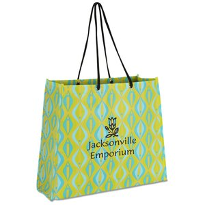 Non-Woven Swanky Shopper - Diamond - Closeout Main Image