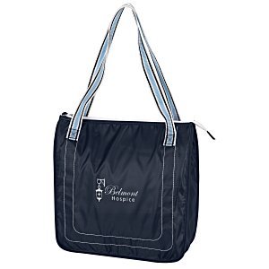 Color Band Cooler Tote