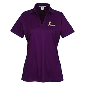 Performance Fine Jacquard Polo - Ladies' Main Image