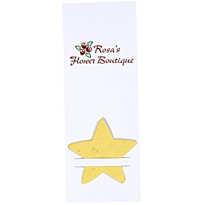 Plant-A-Shape Flower Seed Bookmark - Star