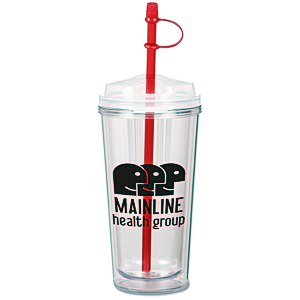 Infuser TakeOut Tumbler with Straw - 16 oz.