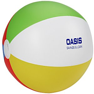 "16"" Beach Ball - Multicolor - 24 hr Main Image"